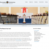 Pennington Presbyterian Church Home Page
