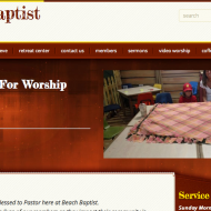 Beach Baptist Home Page